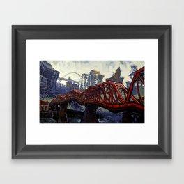 The Broadway Framed Art Print