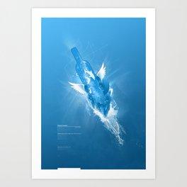 Flowing Paradise Art Print