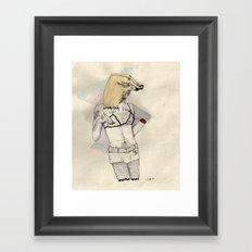 Silent Duck Framed Art Print