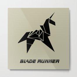 Blade Runner - Rachel's Origami Metal Print