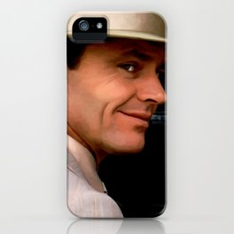 Jack Nicholson @ China Town iPhone Case