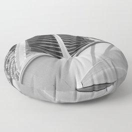 City of Arts and Sciences IV by CALATRAVA architect Floor Pillow