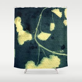 Botanicus (3), Botanical Art Print, Art Print, Botanical Poster, Vintage Print Shower Curtain