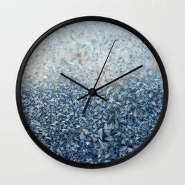 Frosty Confetti Wall Clock
