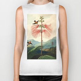 Large flowering sensitive plant. Biker Tank