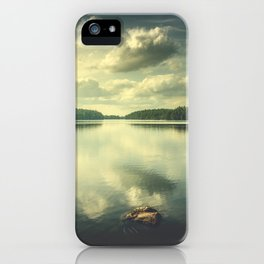 When in doubt iPhone Case