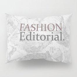 Fashion City: Fashion Editorial Pillow Sham