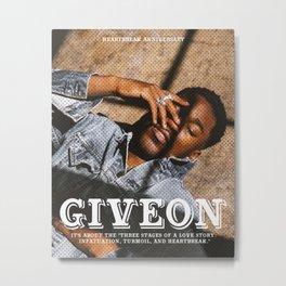 GIVEON HEARTBREAK ANNIVERSARY Metal Print