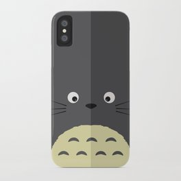 Simple Totor0 illustration iPhone Case
