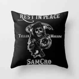 SamCro Throw Pillow