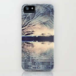Ice Storm Reflection iPhone Case