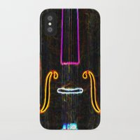 cello iPhone & iPod Cases featuring Cello by J.Lauren
