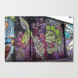 Mayan Warrior Spirit Canvas Print