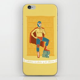 Lucha Library iPhone Skin