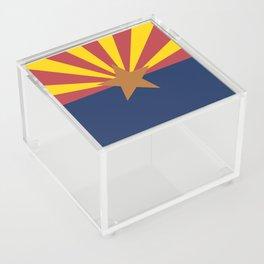 Flag of Arizona Acrylic Box