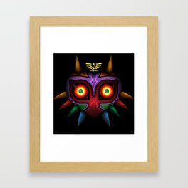 The Mask Of Majora Framed Art Print