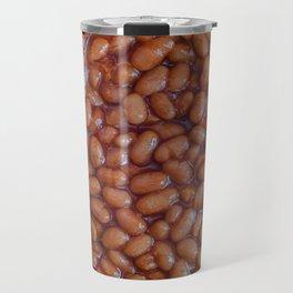 Baked Beans Pattern Travel Mug