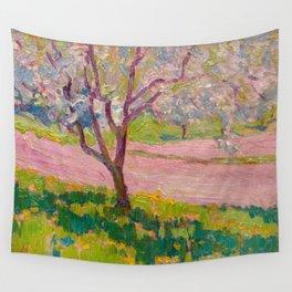 J.E.H. MacDonald, 1873-1932 Apple Blossom, York Mills Wall Tapestry