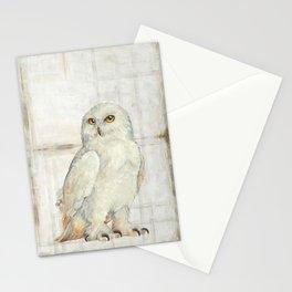 SnowOwl Stationery Cards