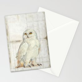 SnowOwl Stationery Cards