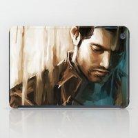 derek hale iPad Cases featuring Derek Hale * Tyler Hoechlin  by AkiMao