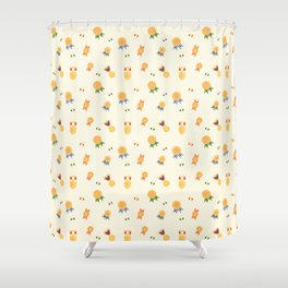 Medals And Badges Shower Curtain