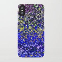 Multicolor Mandala Art iPhone Case