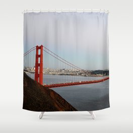 GOLDEN GATE BRIDGE - TWILIGHT - CALIFORNIA Shower Curtain
