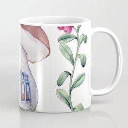 Mushroom House Coffee Mug