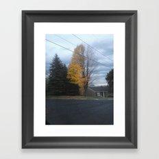 A Fine Line Framed Art Print