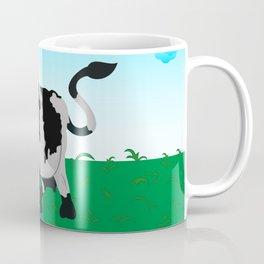Cow on a meadow Coffee Mug