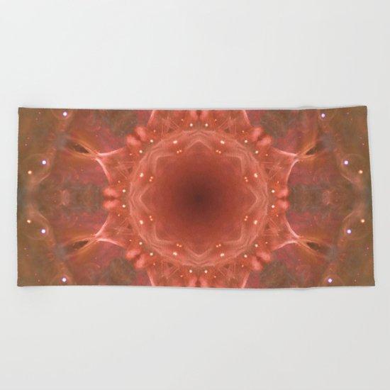 Space Mandala no9 Beach Towel