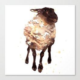 Silly Ewe Canvas Print