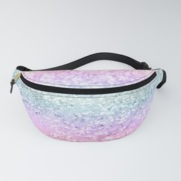 Unicorn Girls Glitter #12 #shiny #pastel #decor #art #society6 Fanny Pack