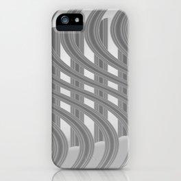 Crazy greylines 3 iPhone Case