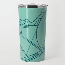 Outrigger Canoe Travel Mug