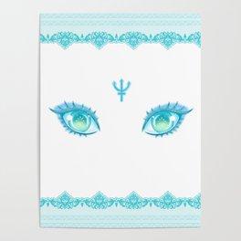 Sailor Neptune Eyes Poster