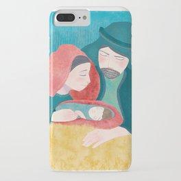 Lucas 2:11 El Nacimiento de Jesucristo iPhone Case