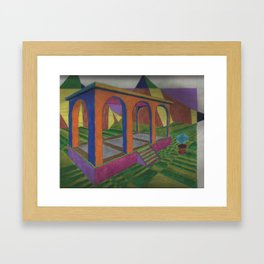 The Geometer's Palace Framed Art Print