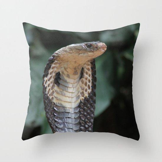 I am not slimey Throw Pillow
