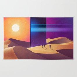 Galaxy desert Mars Rug