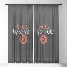 Beets Sheer Curtain