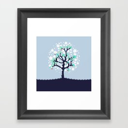 Bloomy Framed Art Print