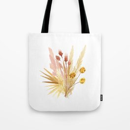 Mari's Bouquet of Dried Flowers Tote Bag