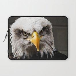 Mean Bald Eagle Laptop Sleeve