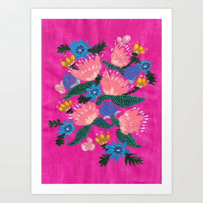 Pink Peonies Kunstdrucke