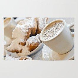 New Orleans Beignets and Café au Lait Rug