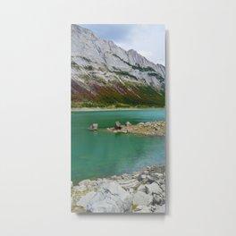 Medicine Lake in Jasper National Park, Canada Metal Print