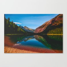 Somewhere in the Rockies Canvas Print
