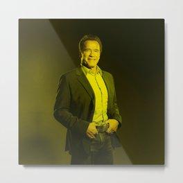 Arnold Schwarzenegger - Celebrity Metal Print